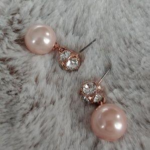 Kate Spade pearl earrings (EUC)